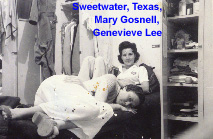Mary Gosnell and Genevieve Lee at Sweetwater